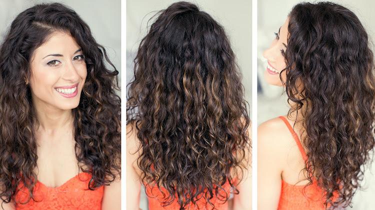 Прическа из пушистых вьющихся волос фото